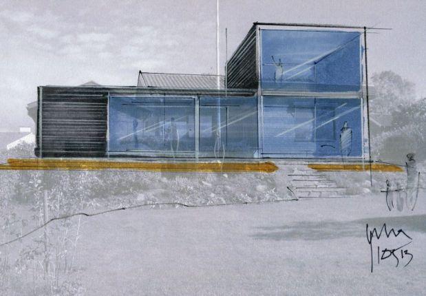 Chahrour Huhtilainen A+D Villa Davidsson 1
