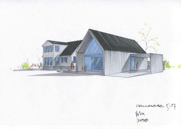 Chahrour Huhtilainen A+D Villa Kattvik 4