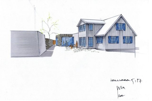 Chahrour Huhtilainen A+D Villa Kattvik 9