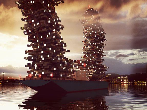 Chahrour-Huhtilainen-A+D-SVT-Container-Ship